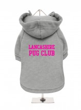 LancashirePug Club Fleece Lined Hoodie (Available in 4 colours)