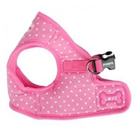 Puppia Pink Dotty  Harness Jacket