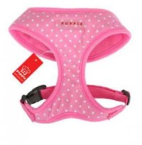 Puppia Pink Polka Dot Harness