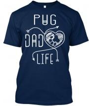 Pug Dad Life T Shirt