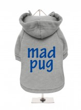 Pug Mad Fleece Lined Hoodie (Available in 5 colours)