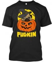 Unisex Funny Pug Halloween T Shirt