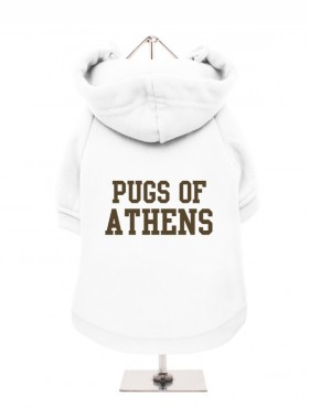 Pugs of Athens Fleece Lined Hoodie (Available in 5 colours)