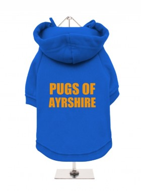 Pugs Of Ayrshire Fleece Lined Hoodie (Available in 5 colours)