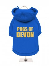 pugs Of Devon Fleece Lined Hoodie (Available in 4 colours)