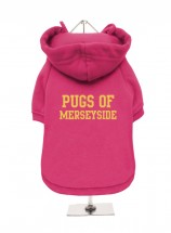 Pugs Of Merseyside Fleece Lined Hoodie (Available in 4 colours)