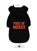 Pugs Of Mexico Fleece Lined Hoodie (Available in 5 colours)