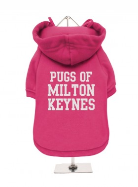 Pugs Of Milton Keynes Fleece Lined Hoodie (Available in 4 colours)