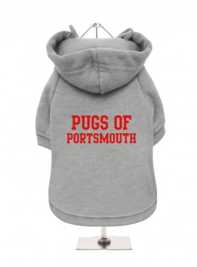 Pugs Of Portsmouth Fleece Lined Hoodie (Available in 5 colours)