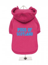 Pugs Of Scotland Fleece Lined Hoodie (Available in 5 colours)