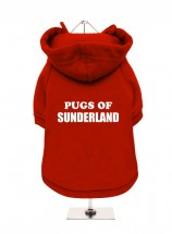 Pugs Of Sunderland Fleece Lined Hoodie (Available in 3 colours)