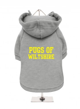 Pugs Of Wiltshire Fleece Lined Hoodie (Available in 4 colours)