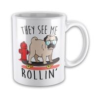 They See Me Rollin Mug