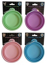 Collapsible Travel Bowls (Available in 4 colours)