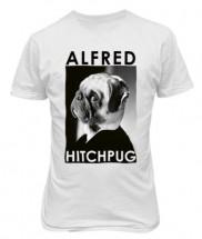 Unisex Alfred Hitchpug T Shirt