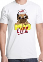 Funny Unisex Pug T Shirt