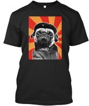 Cool Unisex Pug T Shirt