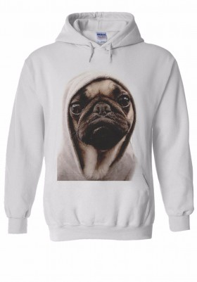 ET Pug Unisex Hoodie (Available in 4 colours)