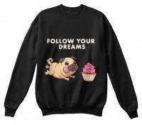 Unisex Pug Sweet Sweater