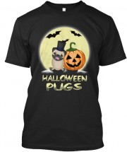 Cool Pug Halloween T Shirt