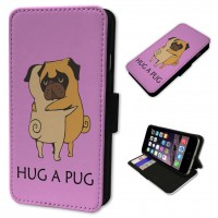 Hug A Pug iPhone Case (For all models)