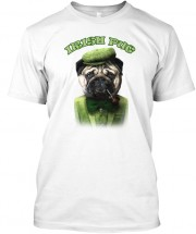 Irish Pug Unisex T Shirt