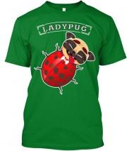 Funny Ladypug Unisex T Shirt