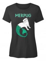 Funny MerPug T Shirt