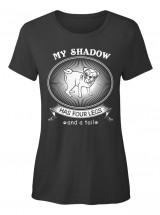 Funny Ladies Pug T Shirt
