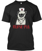 Nurse Pug Unisex T Shirt