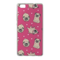 Pug Print iPhone Cover