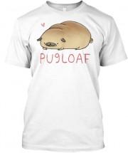 Funny Pug Loaf Unisex T Shirt