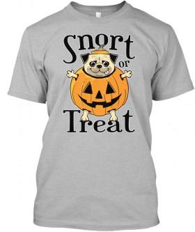 Unisex Pug Halloween T Shirt