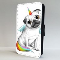 Unicorn Pug Samsung & iPhone Case