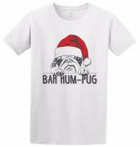 Unisex Bah Hum Pug Christmas T Shirt