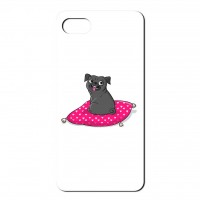 Cute Black Pug Phone Case (For iPhones,Huawei, & Galaxy Samsung)