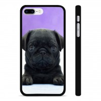Black Pug Puppy iPhone Cover