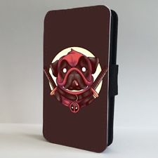 Deadpool Pug Phone Case (For all iPhone models)