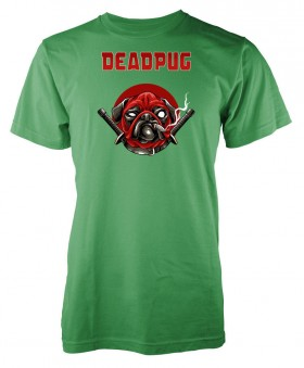 Kids PuG Deadpool T Shirt (Available in 10 colours)