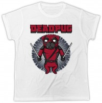 Deadpool Unisex Pug T Shirt
