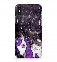 Galaxy Pug iPhone Cover & Samsung