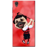 Golf Player Pug iPhone Cover (For all models)