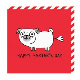 Happy Farters Day Blank Card By Gemma Correll