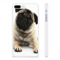Head Tilt Pug iPhone Cover