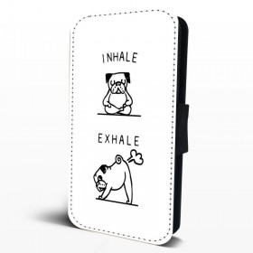 Funny Yoga Pug Phone Case (For all iPhone & Samsung models)