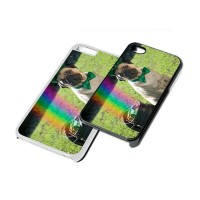 Lucky Irish Pug Phone Cover (For various models & In Black or White)