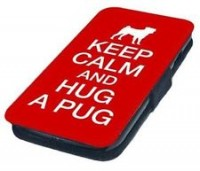 Pug Keep Calm Samsung Galaxy Phone Case (Various Samsung Galaxy models)