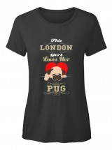 London Girl Ladies T Shirt