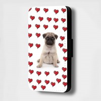 Cute Fawn Pug Phone Case (For various models )