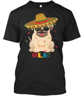 Unisex Ole Pug T Shirt